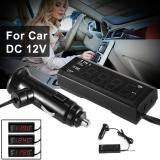 Jual Xcsource Multifuncitonal Mobil Kit Digital Pengukur Tegangan Volt Jam Termometer Dc 12 V Ma1006 Branded