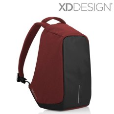 Xd Desain Bobby Anti Pencurian Backpack Merah Hitam Abu Abu Intl Xd Design Diskon