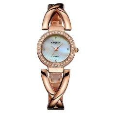 Xfsmy Kingsky Produsen Grosir Penjualan Langsung Lady Watchesquartz Crystal untuk Menjual Melalui Keinginan Penjual Besar Persediaan Penting (Rose Emas) -Intl