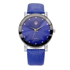 XINEW Baru Sabuk Ultra-tipis Watch Men's SHARP QUARTZ Watch Women's Fashion Watches Khusus Offerblue -Intl