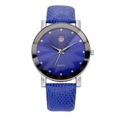 XINEW Baru Sabuk Ultra-tipis Watch Men's SHARP QUARTZ Watch Women's Fashion Watches Khusus OfferKhaki -Intl