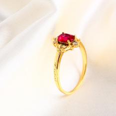 Jual Xuping Jewelry Cincin Eropa Dan Amerika Sintetis Cincin Perempuan Permata Branded Murah