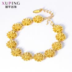 Xuping Jewelry Retro Perempuan Endapan Emas Gelang Emas Gelang Diskon Akhir Tahun