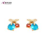 Cuci Gudang Xuping Jewelry Shishang Perempuan Siswa Style Telinga Gesper Anting