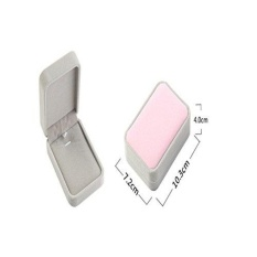XY Fancy S925 Sterling Silver dan Putih Berlapis Emas CrystalRhinestone Star Kalung Pernikahan Partai Perhiasan Hadiah untuk Wanita-Intl