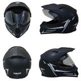 Yamaha Helm Full Face Xabre Black Doff Helm Yamaha Full Face Xabre Helm Full Face Di Banten