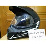 Model Yamaha Helm Helmet Full Face Xabre Black Doff All Size L Terbaru