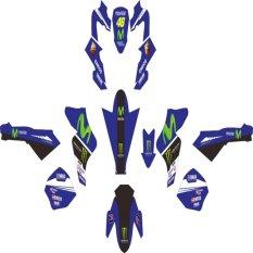 Jual Yamaha Vixion Sticker Decal Modifikasi Livery Movistar Blue Online Di Jawa Tengah