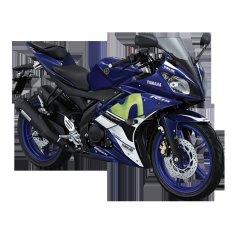 Harga Yamaha Yzf R15 Movistar Motogp Sepeda Motor Biru Jakarta Tangerang Banten Yamaha Terbaik