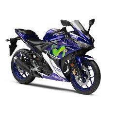 Review Yamaha Yzf R25 Movistar Motogp Sepeda Motor Biru Jakarta Tangerang Banten Dki Jakarta