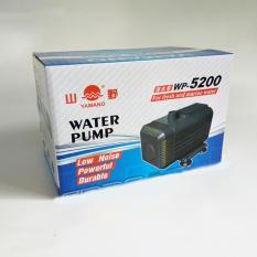 Spesifikasi Yamano Wp5200 Kolam Pompa Air Ikan 2800L H Akuarium Aquarium Fish Lengkap