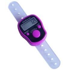 Yangunik Alat Hitung Jari atau Tasbih Digital Cincin Finger Counter - Pink