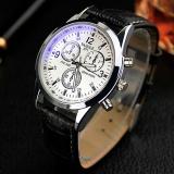 Situs Review Yazole 271 Pria Bisnis Fashion Quartz Watches Putih Dan Hitam Internasional