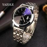 Jual Yazole 296 Men S Business Strip Calendar Quartz Watch Balck Intl Lengkap