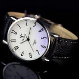 Spesifikasi Yazole 299 Jam Tangan Pria 2016 Top Merek Mewah Terkenal Pria Jam Jam Kuarsa Keemasan Jam Tangan Kuarsa Watch Hitam Putih Murah