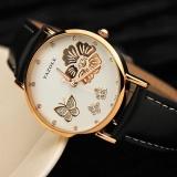 Toko Yazole 343 Wanita Fashion Baru Indah Berlian Imitasi Sabuk Fashion Meja Jam Quartz Putih Dan Hitam Internasional Terlengkap
