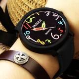 Review Merek Watch Pria Wanita Watches Quartz Jam Tangan Perempuan Pria Kuarsa Watch Yzl347 H Hitam Intl Yazole Yazole