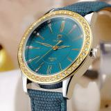 Jual Yazole Gold Diamond Quartz Watch Women Ladies Famous Brand Luxury Golden Wrist Watch Female Clock Yzl361G Blue Intl