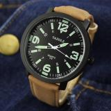 Situs Review Yazole Pria Leather Strap Round Dial Quartz Watch Super Luminous Intl
