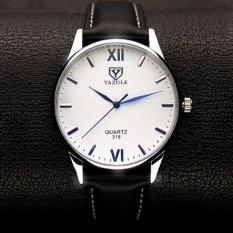 Jual Yazole Mens Luxury Blue Ray Glass Watch Quartz Analog Bisnis Jam Tangan Internasional Grosir