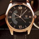 Beli Barang Yazole Original Harvard Yz337 Jam Tangan Kulit Pria Top Luxury Watch Men Watches Business Male Quartz Analog Wristwatch Waterproof Wr Resistance Dasar Hitam Hitam Online