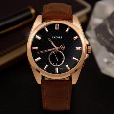 Toko Yazole Top Luxury Brand Watch Men Business Watches Quartz Wristwatches Male Sport Quartz Watch Yzl356H Brown Intl Lengkap Tiongkok