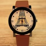 Spek Yazole Vintage Pria Band Fashion Wanita Sport Bussiness Quartz Wrist Watch Yzl213 A Brown Intl Yazole
