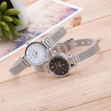 Toko Jual Ybc 1 Pair Fashion Couple Stainless Steel Mesh Band Wrist Watch Intl