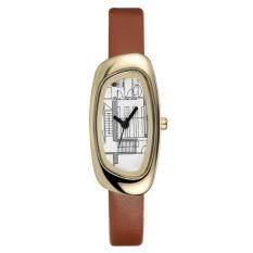 Harga Ybc Fashion Women Simple Quartz Watch Leather Band Wristwatches Intl Origin