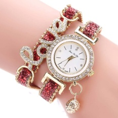Beli Ybc Fashion Women Watch Multi Layer Bracelet Quartz Jam Tangan Intl Baru