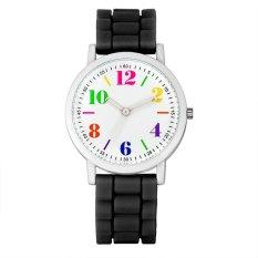 Harga Ybc Women Kasual Kinyang Candy Colors Silicone Watch Intl Murah