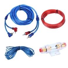 Harga Yh 128 1200 W Mobil Amplifier Audio Kabel Daya Subwoofer Kabel Instalasi Kit With High Performance Rca Interkoneksi Intl Di Tiongkok