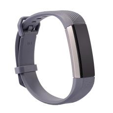 Yika Fitbit Alta HR Band Tali Pengaman Gesper Gelang Gelang Pelacak Kebugaran Ukuran: L