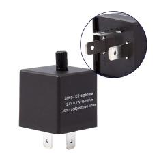 Spesifikasi Yosoo 12V 3 Pin Adjustable Led Light Flasher Relay Fix Untuk Turn Signal Indikator Intl Murah