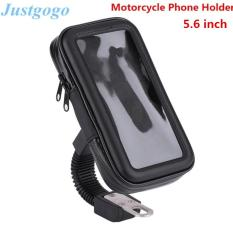Toko Justgogo Motorcycle Phone Mount Holder Waterproof Case Bag L Ukuran Murah Tiongkok