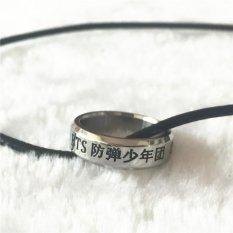 Youpop BTS Bangtan Boys Sayap Album Rope Ring Aksesoris Cincin Perhiasan dengan Lanyard China Nama-Intl