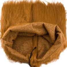 Yugos Pet Dog Lion Wig Surai Rambut For Fancy Party Natal Berdandan, Kuning