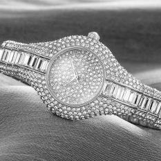 Yugos Supreme (SMAYS) Watch Hongkong Fashion Girls QUARTZ Ladies Watch Dial Watch Watch A987 3 Silver Stone (SilverGold)