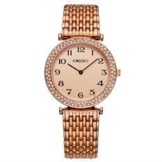 Yukufus 2016 Kingsky Watch Jam Tangan Berpasangan Merek Swiss Kecepatan Jual Lewat Perdagangan Luar Negeri Watch Jam QUARTZ Harga Pabrik (rose Gold)