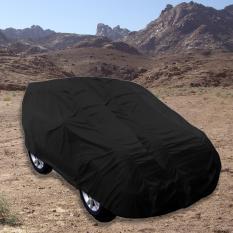 Zafran Cover Sarung Penutup Mobil Honda Brio Hitam Kombinasi Abu Metalic
