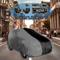 Zafran Cover Sarung /Penutup  Mobil Nissan Grand Livina Hitam Kombinasi Abu_Abu