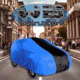 Promo Zafran Cover Sarung Penutup Mobil Honda Mobilio Dan Honda Brv Biru Bca Kombinasi Hitam Polos Murah