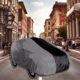 Jual Zafran Sarung Penutup Cover Mobil Daihatsu Terios Dan Toyota Rush Abu Metalik Kombinasi Hitam Polos Termurah
