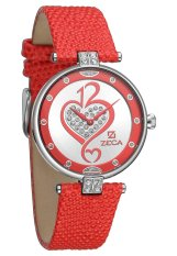Zeca Jam Tangan Wanita 148L - Merah