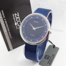 Zeca ZC1001 - Jam Tangan Wanita - Stainless Steel - Blue