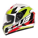 Diskon Besarzeus Helm Fullface 806 Putih Ii31 Hijau