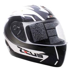 Beli Zeus Helm Fullface 806 Putih Ii32 Hitam Zeus