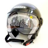 Toko Zeus Helm Half Face Zs 210K Polos Hitam Lengkap Di Indonesia