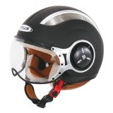 Beli Zeus Helm Half Face Zs 218 Retro Iron Head Hitam Dope Di Indonesia