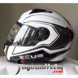 Beli Zeus Helm Zs811 Al17 Pattern Zs 811 Import Zs 811 Fullface Smoke Visor Online